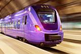 Fototapeta kolejowe - prędkość - Kolej