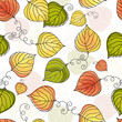 Autumn colorful seamless pattern