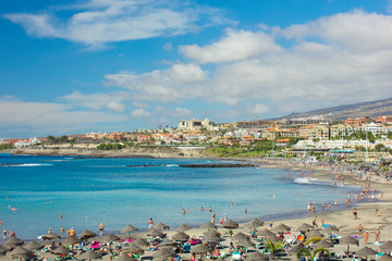 playa Las Americas, Tenerife, Spain