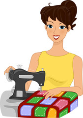 Quilting Girl