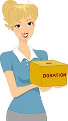 Donation Girl