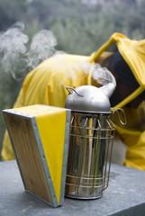 Smoker beekeeper