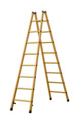 Herringbone ladder  (clipping path!)