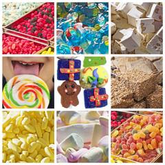 Collage bonbons
