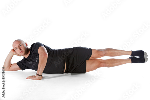 Pilates position - Side Kick Big Scissors