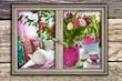 Wohnen und Blumen