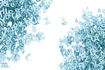 3D Buchstaben Aluminium