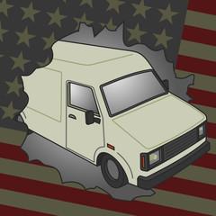 Furgoneta americana