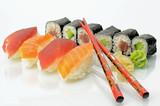 Fototapete Essen - Gesunde - Gedeckter Tisch