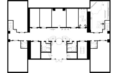 Concept Floor Plan Basement - Commercial or Residential