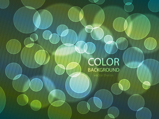 Vector - color circle background
