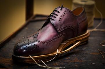 realizzazione scarpa uomo