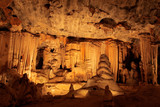Limestone formations, Cango caves, South Africa