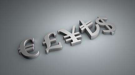 monetary symbols