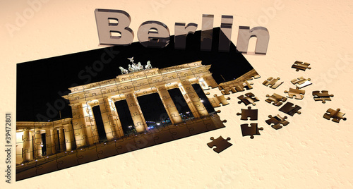 3D Puzzle - Berlin