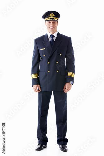 Leinwandbild Motiv Pilot