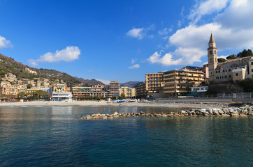 Recco from the sea, Italy