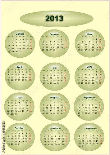 Kalender 2012 2013 Free Download Kalender Gratis