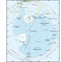 Antarktis-Südpol