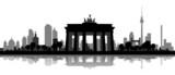 Fototapety Berliner Skyline mit Brandenburger Tor