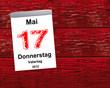 Kalender Holz - 17.05.2012 - Vatertag