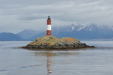 Lighthouse around Ushuaia Bay