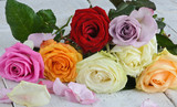 Fototapeta biały - pąs - Kwiat