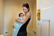 Mother and Baby - Parenting - Bathing