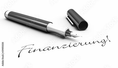Finanzierung! - Stift Konzept