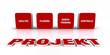Text Konzept - 3D Projekt Rot 3