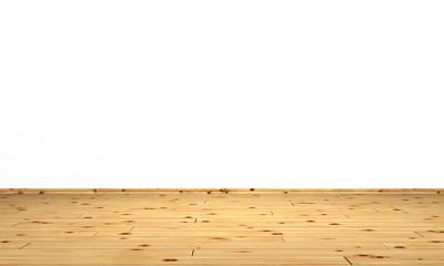 Heller Holzboden vor weisser Wand 05