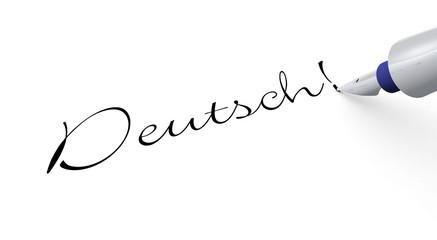 Stift Konzept - Deutsch!