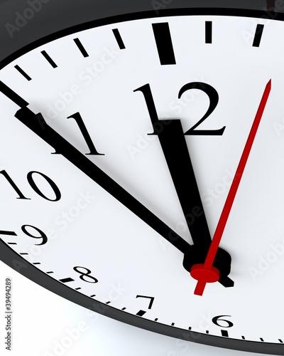 Ticking Time - 5 vor Zwölf Konzept 2