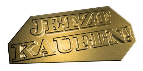 3D Goldschrift - JETZT KAUFEN