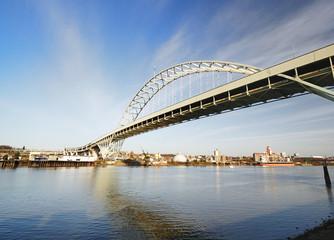 A beautiful view of freemont bridge