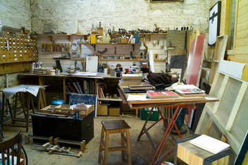 painter artist studio
