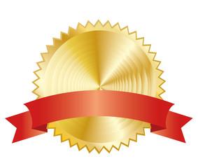goldene Plakette