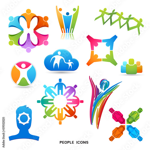 People Icons and Symbols