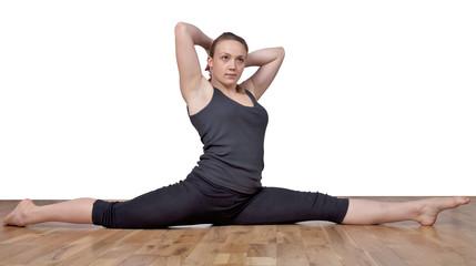 Upright posture and box splits