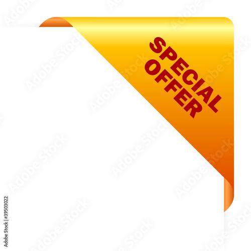 Special Offer Vector Corner