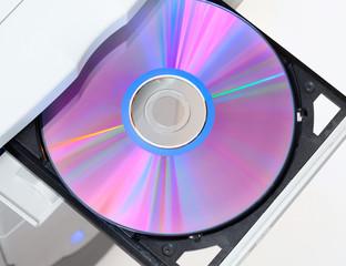 Dvd in open tray
