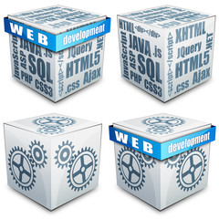 Web development Cube