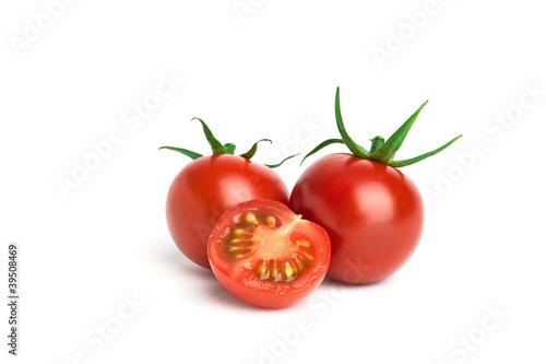 Leinwandbild Motiv frische Tomaten