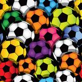 Soccer seamless texture