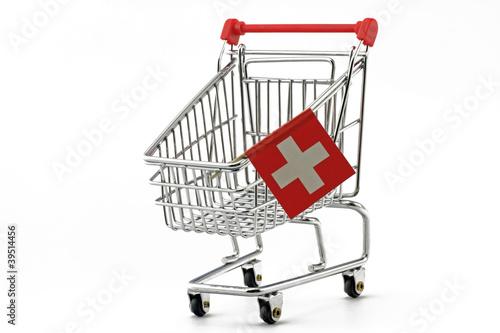 schweizer einkaufswagen