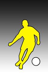 logo footballeur