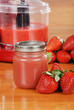 organic strawberry baby food