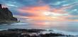 Crépuscule au Cap La Houssaye.