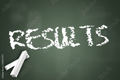 """Chalkboard """"Results"""""""