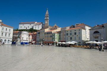 Pirano piazza